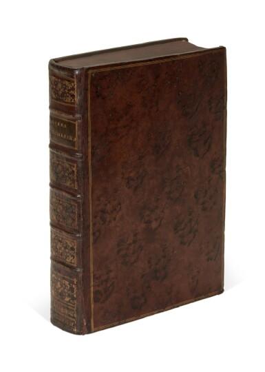 View 4. Thumbnail of Lot 259. Vergil, Opera Virgiliana, Lyon, 1529, later mottled calf.
