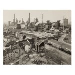 BERND AND HILLA BECHER | 'BLAST FURNACE PLANT DUISBURG-BRUCKHAUSEN, RUHR, G (VIEW FROM OUTSIDE)'