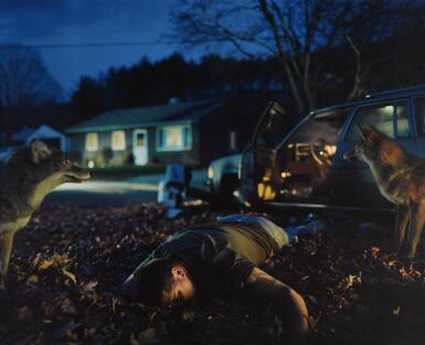 View 1. Thumbnail of Lot 93. GREGORY CREWDSON | UNTITLED (BUD MAN), 1999.