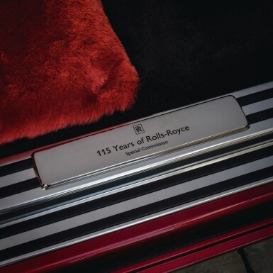 View 12. Thumbnail of Lot 1. Red Rolls-Royce Phantom Commission with Mickalene Thomas.