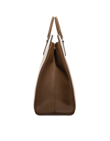 View 3. Thumbnail of Lot 55. PRADA | SAFFIANO LEATHER GALLERIA TOTE BAG.