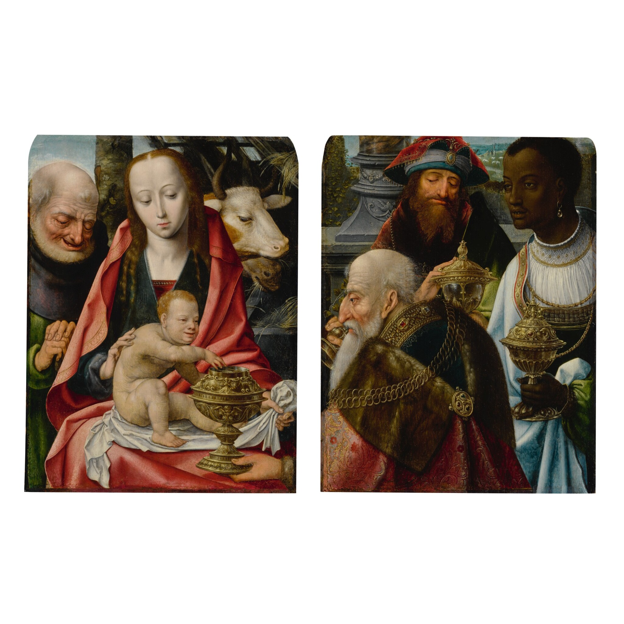 View full screen - View 1 of Lot 1. Adoration of the Magi.