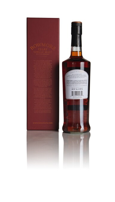 View 2. Thumbnail of Lot 297. BOWMORE 16 YEAR OLD WINE CASK MATURED 53.5 ABV 1992  .