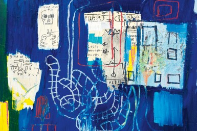 View 2. Thumbnail of Lot 105.  JEAN-MICHEL BASQUIAT  |  JUSTCOME SUIT.