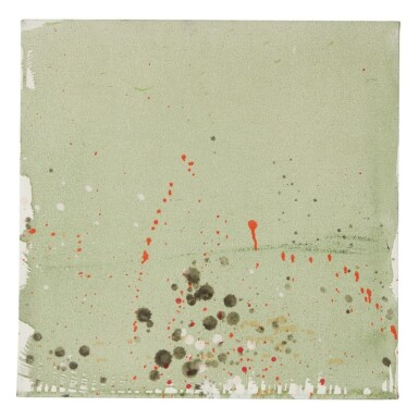 PAT STEIR  | GREEN AND ORANGE