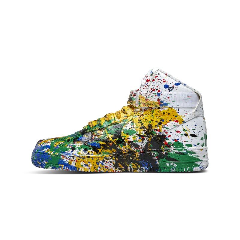 Nike Air Force 1 High Mr. Brainwash 'Just Did It'