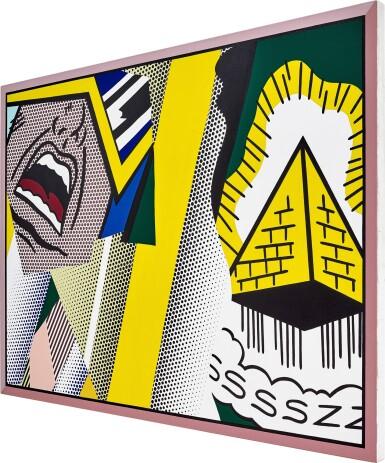 View 3. Thumbnail of Lot 1117. Roy Lichtenstein 羅伊・李奇登斯坦 | Reflections: Mystical Painting 反射系列:神秘的繪畫.