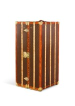 A Louis Vuitton Wardrobe Trunk Early 20th Century