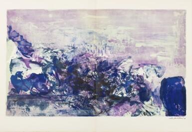 View 16. Thumbnail of Lot 181.  À la gloire de l'image.... Barcelone, 1977. 15 lithographies en couleurs. Edition originale..