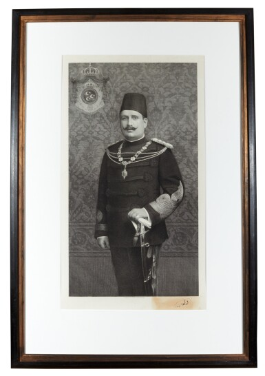 View 1. Thumbnail of Lot 94. Egypt | Portrait of Fuad I of Egypt.
