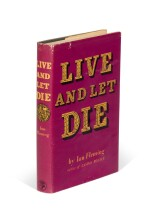 FLEMING | Live and Let Die, 1954, first edition