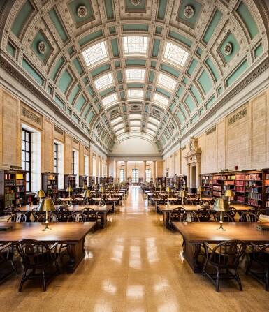View 1. Thumbnail of Lot 164. Loker Reading Room – Widener Library, Harvard University, Cambridge.