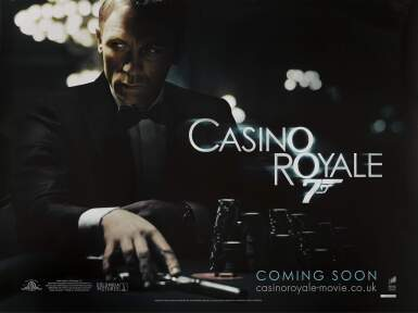 CASINO ROYALE (2006) POSTER, BRITISH, ADVANCE