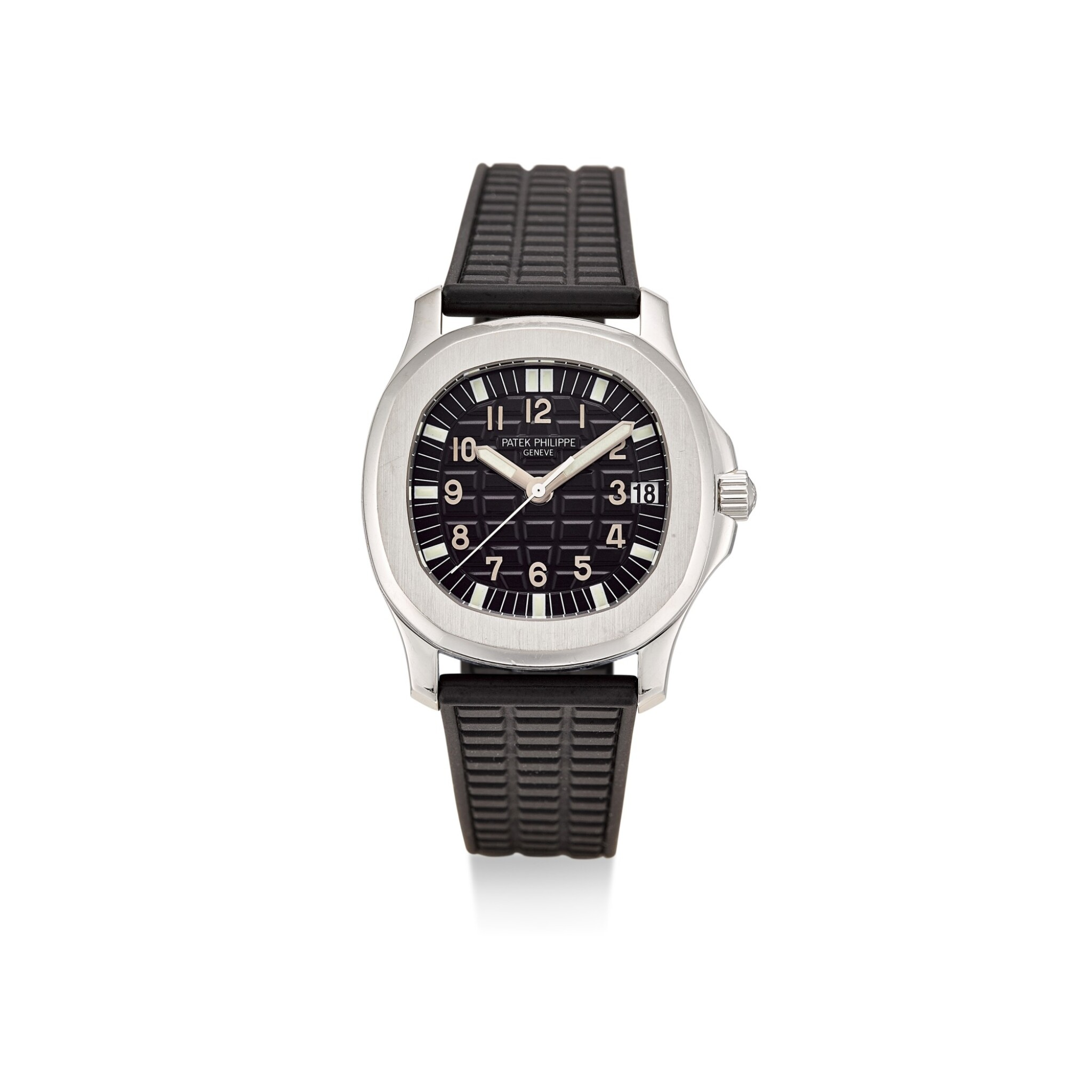 PATEK PHILIPPE | AQUANAUT, REFERENCE 5066 A STAINLESS STEEL WRISTWATCH WITH DATE, CIRCA 2000