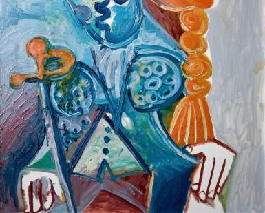 View 3. Thumbnail of Lot 8005. Pablo Picasso 巴布羅・畢加索 | Buste de matador 鬥牛士.