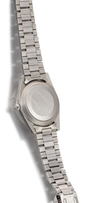 View 3. Thumbnail of Lot 7. ROLEX   MILGAUSS, REFERENCE 1019, A STAINLESS STEEL ANTIMAGNETIC WRISTWATCH WITH BRACELET, CIRCA 1970.