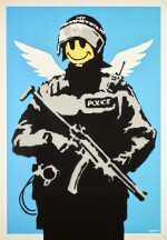 BANKSY | FLYING COPPER