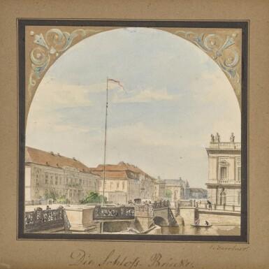 View 1. Thumbnail of Lot 48. Die Schlossbrücke (The Schlossbrücke Bridge).