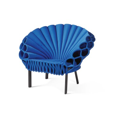 """View 2. Thumbnail of Lot 277. """"Peacock"""" Chair."""