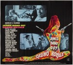 CASINO ROYALE (1967) POSTER, FRENCH