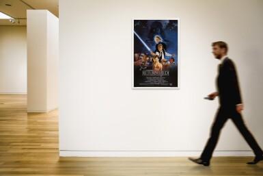 Return of the Jedi (1983) printer's test poster, US
