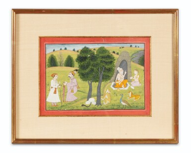 View 2. Thumbnail of Lot 36. INDIA, RAJASTHAN, PAHARI, LATE 18TH CENTURY AND 19TH CENTURY | FIVE INDIAN MINIATURES .