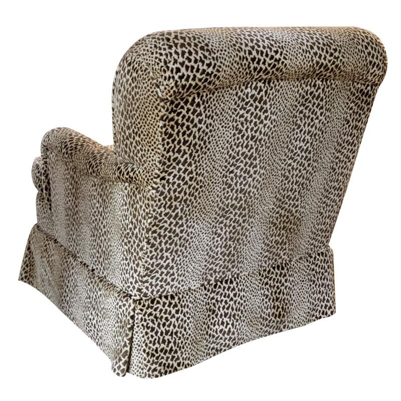 Contemporary Cheetah Lounge Chair