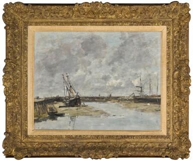 View 2. Thumbnail of Lot 32. Trouville, les jetées, marée basse.