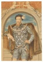 WILLIAM DERBY | Portrait of Henry Howard, Earl of Surrey (circa 1517-1547)
