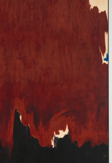View 3. Thumbnail of Lot 6. CLYFFORD STILL | 1957-G.