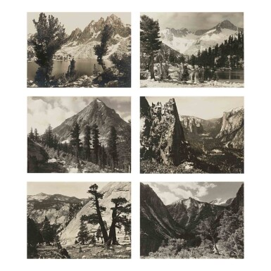 View 5. Thumbnail of Lot 91. 'Parmelian Prints of The High Sierras'.