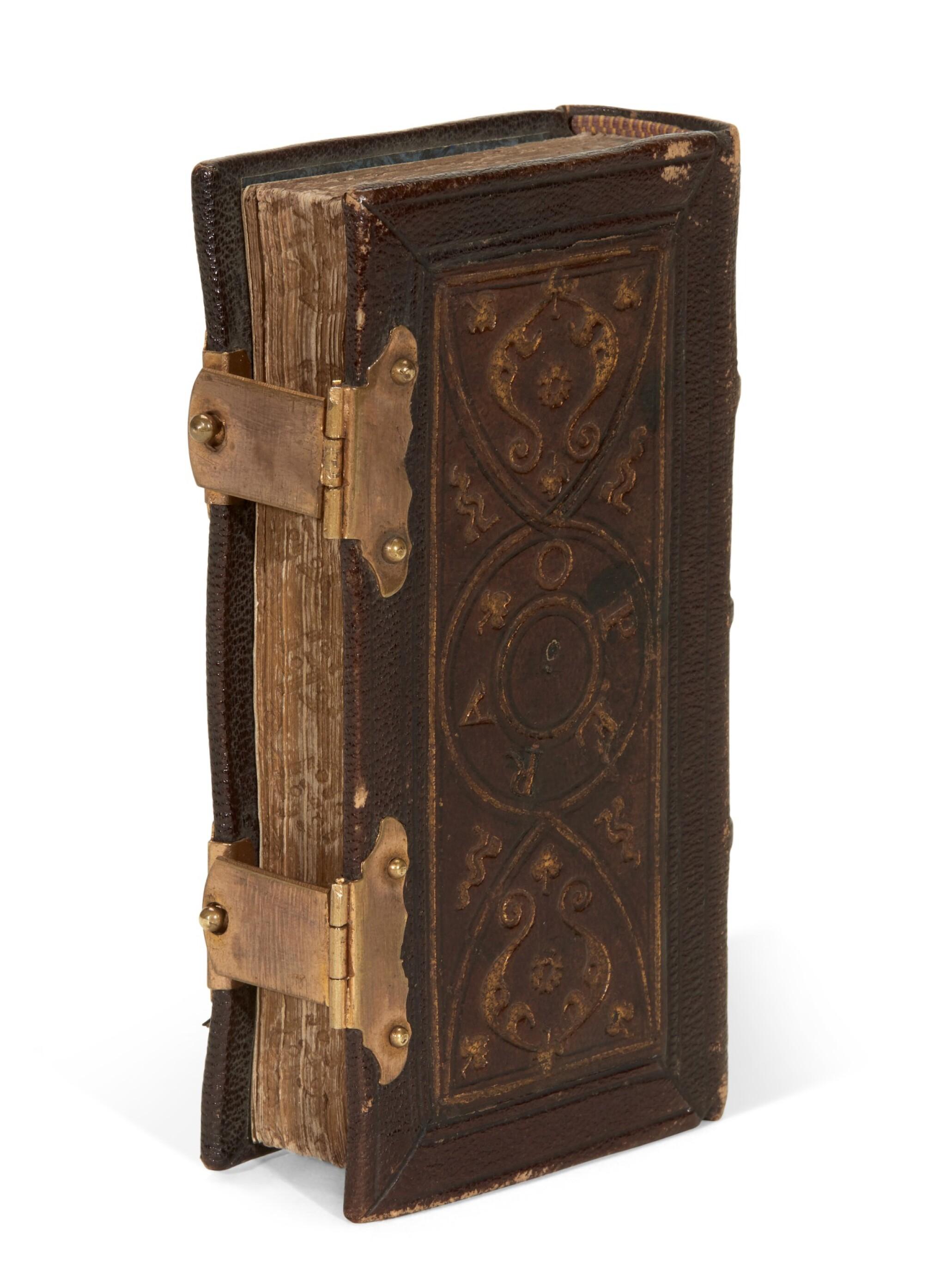 View full screen - View 1 of Lot 101. Dante col sito, et forma dell'Inferno, [Venice, Paganino, c. 1516], miniature edition.