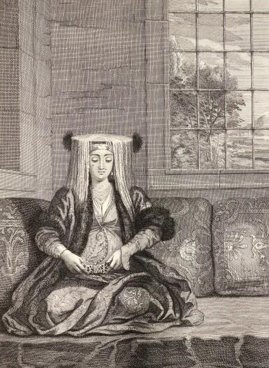 Le Hay and Ferriol | Recueil de cent estampes representant differentes nations de Levant, 1714-1715, 2 parts in one