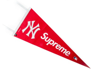 View 5. Thumbnail of Lot 22. A GROUP OF 5 SUPREME BASEBALL ACCESSORIES.