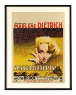 Shanghai Express (1932) poster, French