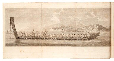 View 4. Thumbnail of Lot 263. Cook. Complete set of the voyages. 1773-1785. 10 volumes. The Morritt copy..