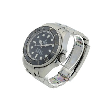 View 2. Thumbnail of Lot 282. REFERENCE 116660 DEEPSEA SEA-DWELLER A STAINLESS STEEL AUTOMATIC WRISTWATCH WITH DATE AND BRACELET, CIRCA 2007.