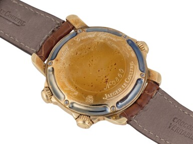 View 3. Thumbnail of Lot 103. JAEGER-LECOULTRE   GRAND REVÉIL, REF 180.1.99 YELLOW GOLD PERPETUAL CALENDAR WRISTWATCH WITH MOON PHASES, ALARM, 24-HOUR AND YEAR INDICATION CIRCA 1989.