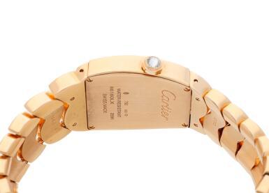 View 5. Thumbnail of Lot 19. Reference 2896 La Dona  A pink gold and diamond-set bracelet watch, Circa 2010.