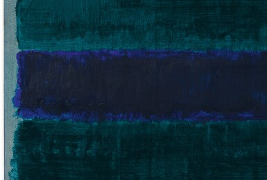 View 2. Thumbnail of Lot 110. MARK ROTHKO | GREEN, BLUE, GREEN .