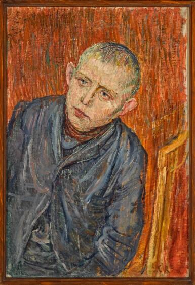 View 2. Thumbnail of Lot 17.  CHRISTIAN ROHLFS | KNABENPORTRAIT (PORTRAIT OF A BOY).