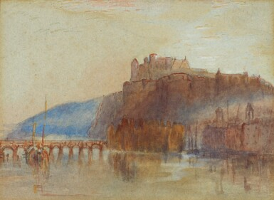 AFTER JOSEPH MALLORD WILLIAM TURNER | Amboise, on the River Loire