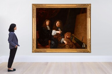 View 4. Thumbnail of Lot 142. Double portrait of Henri (1603-77) and Charles Beaubrun (1604-92).