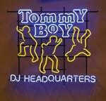 [TOMMY BOY RECORDS] | An original Neon Tommy Boy DJ Headquarters sign, ca 1990s