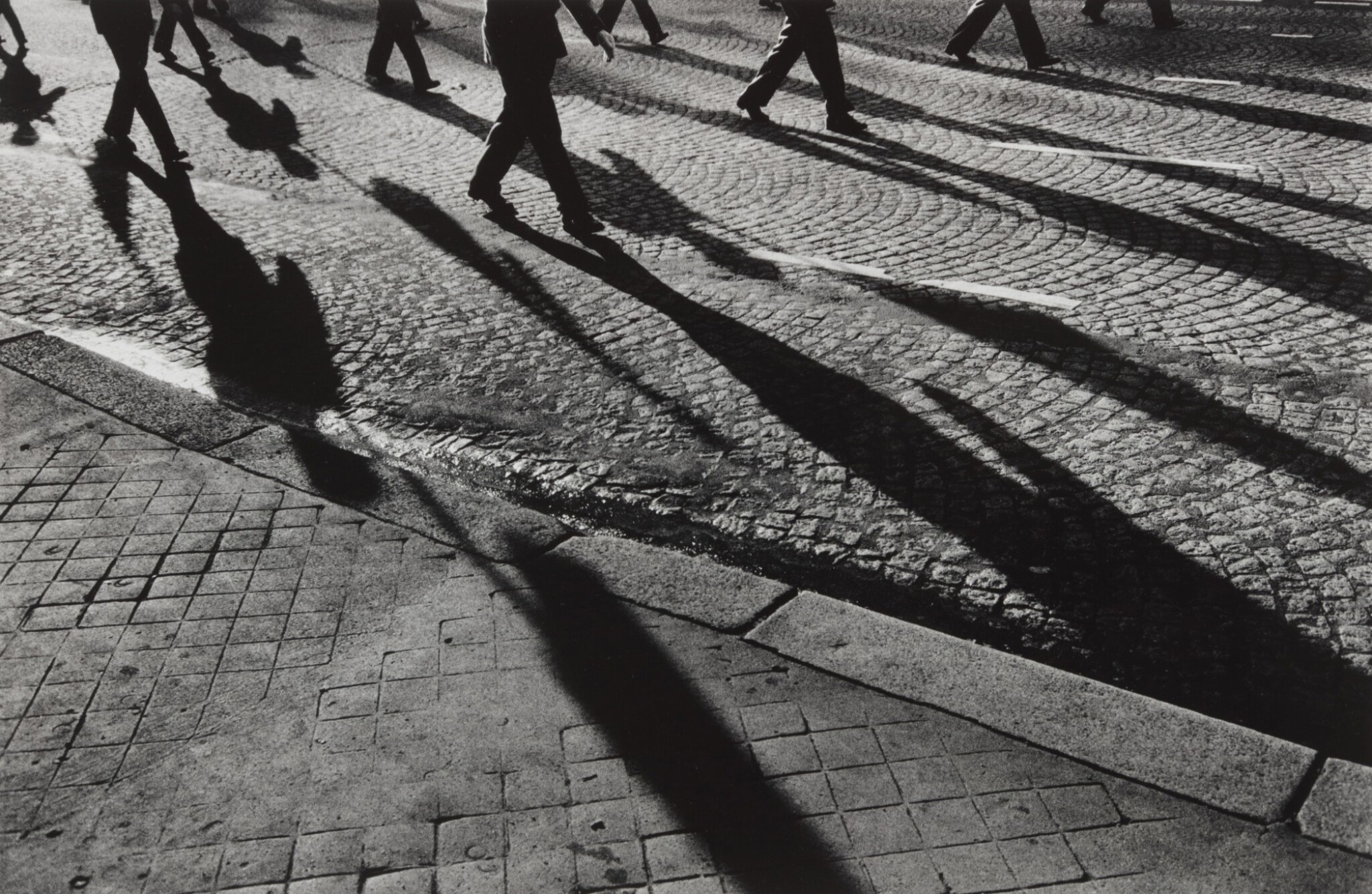 View full screen - View 1 of Lot 102. France, Shadows on Pavement (from Exiles).