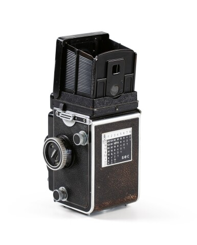 View 4. Thumbnail of Lot 13. Rolleiflex Camera of Paolo Roversi.