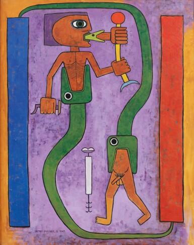 View 1. Thumbnail of Lot 22. Le Codex du Poète, Mythologie du Poète, Première Naissance     .