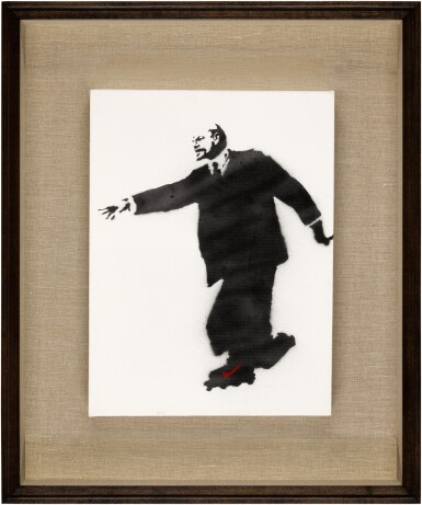 View 2. Thumbnail of Lot 125. Lenin on Roller Skates.
