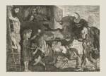 PABLO PICASSO   LA MINOTAUROMACHIE (BLOCH 288; BAER 573)