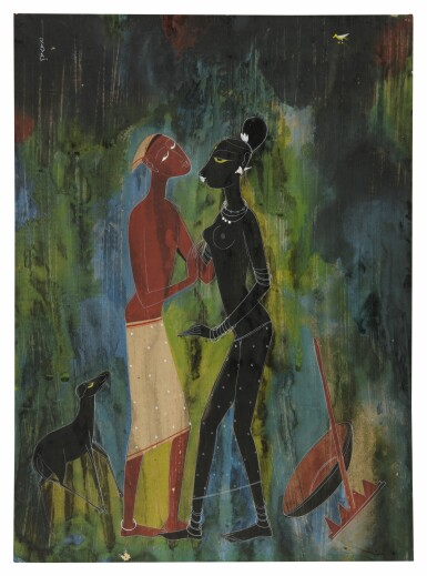 RASIK DURGASHANKER RAVAL | UNTITLED (COUPLE)